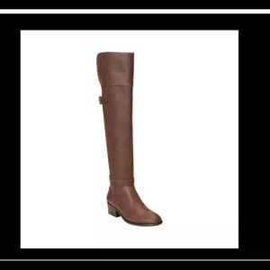 7.5 Aerosoles Mysterious Over the Knee Boot Brown